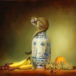 Featured Painting Monkey The Middle Fine Art Tips