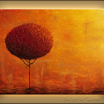 Feng Shui Paintings For Sale Wall Art Modern Abstract Trees Flowers