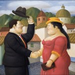 Fernando Botero Colombian Figurative Painter