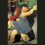 Fernando Botero Paintings Oil Art Gallery Pictures