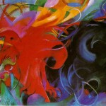 Fighting Forms Franz Marc Wikipaintings
