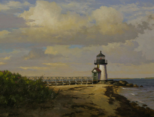 Fine Art Landscape Coastal Lighthouse Painting