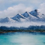 Fine Art Oil Paintings Frosty Mountains Arts Gallery