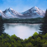 Fine Art Oil Paintings Mountain Escape Arts Gallery