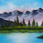 Fine Art Oil Paintings Mountain Tranquility Arts Gallery
