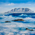 Fine Art Sea And Waves Original Oil Painting Canvas Artist