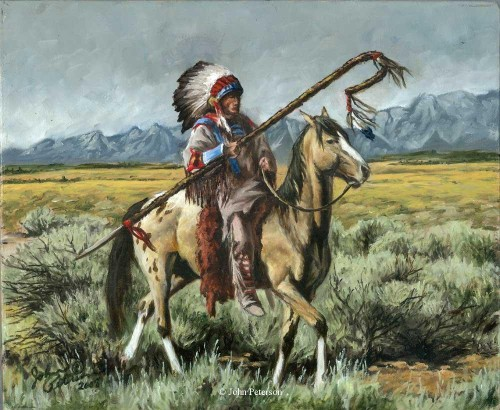 Fine Artoriginal Western Wildlife Native American Paintings