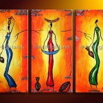 Firstline Studentcalendar African Art Paintings Canvas