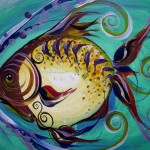 Fish Art Paintings And Original Fine Jason Scarpace Artist