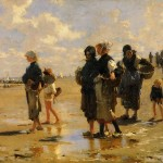 Fishing For Oysters Cancale John Singer Sargent Wikipaintings