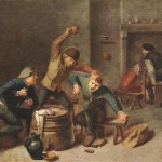 Flemish Genre Painter Adriaen Brouwer Oil Painting Reproduction