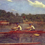 Flickriver Set Thomas Eakins Rowing Art The Happy Rower