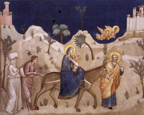 Flight Into Egypt Giotto Wikipaintings