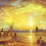 Flint Castle William Turner Artinthepicture
