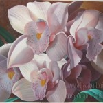 Flower Oil Painting From
