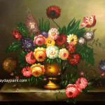 Flower Paintings For Sale Buy Famous Online Hwp