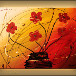 Flowers Painting Image Dripping Copyright Carmenguedez