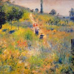 Footpath The Summer Pierre Auguste Renoir Artinthepicture