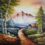 For This Paintings Custom Size Framing Options Oil Painting