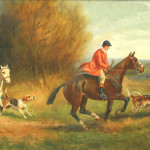 Fox Hunting Paintings Pair For Sale Antiques Classifieds