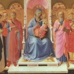 Fra Angelico Paintings Annalena Altarpiece Painting