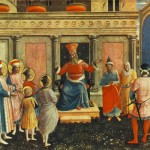 Fra Angelico Saint Cosmas And Damian Before Lisius Painting