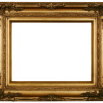 Frame Modern Painting Portrait Decorative