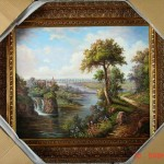 Framed Landscape Oil Paintings China