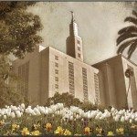 Framed Lds Los Angeles Temple