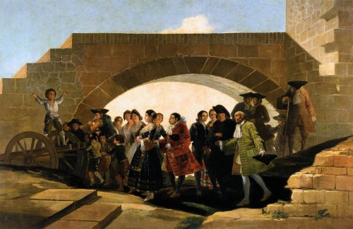 Francisco Goya The Wedding Oil Canvas