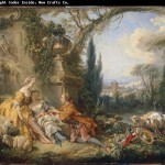 Francois Boucher China Wholesale Oil Painting Picture Frame