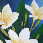 Frangipani Painting Ebay Pictures
