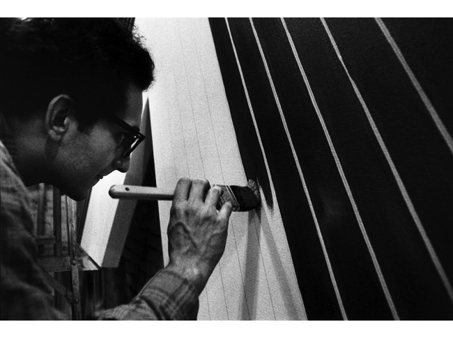 Frank Stella Black Paintings Siong Chin