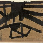 Franz Kline Ink Study For High Street Art
