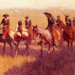 Frederic Remington Paintings Assault His
