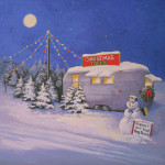 Free Christmas Painting For