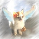 Free Kitty Angel Painting Twitter
