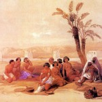 Free Pictures Art David Roberts Oil Painting