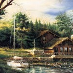 Free Pictures Art Terry Redlin Landscape Oil Painting