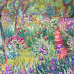 French Impressionist Painting And English Planting Design Garden
