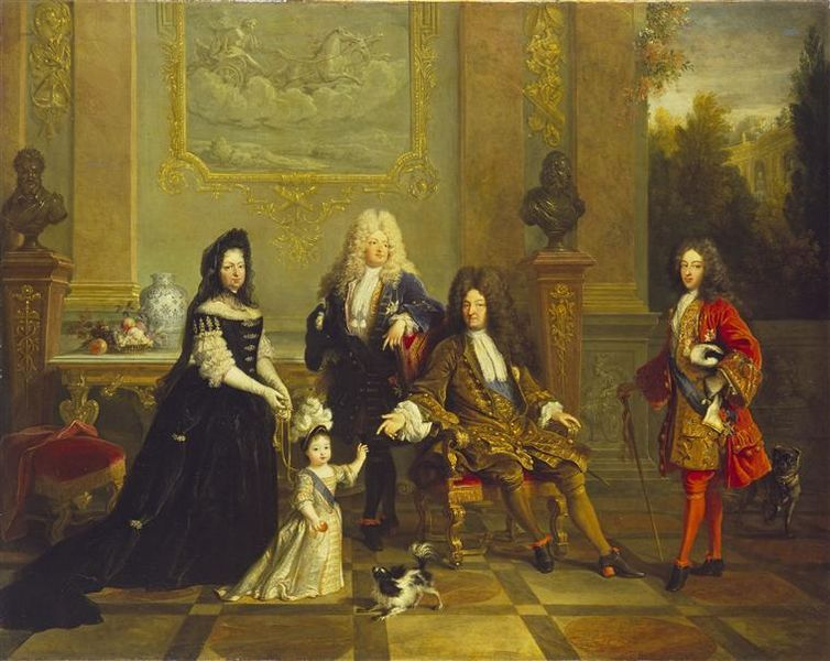 French Revolution Paintings Louis Xiv For Web Search
