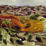 Frida Kahlo Roots Painting