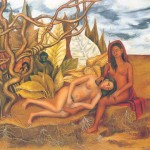 Frida Kahlo Two Nudes Forest