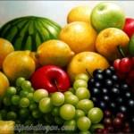 Fruit Oil Painting From Graphy