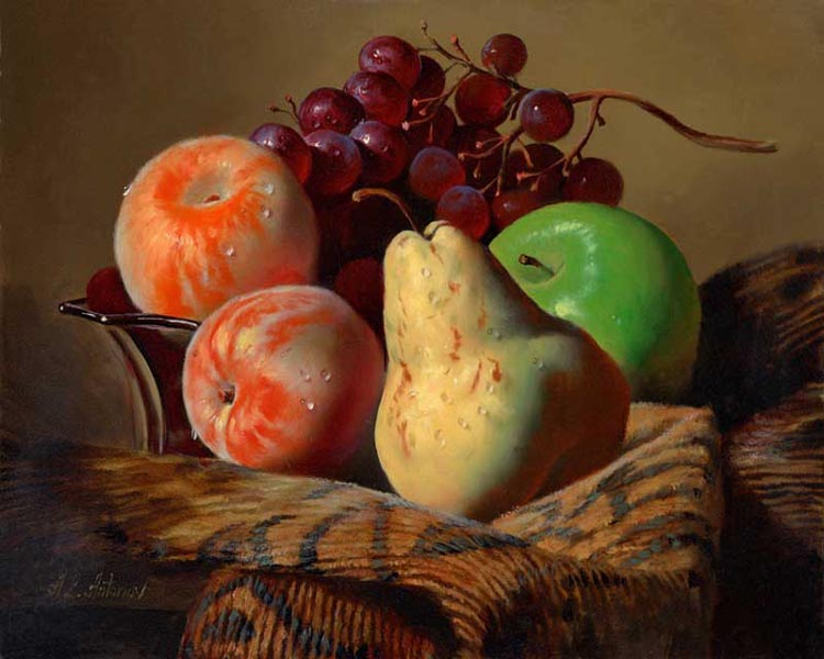 Fruits Oil Painting Canvas