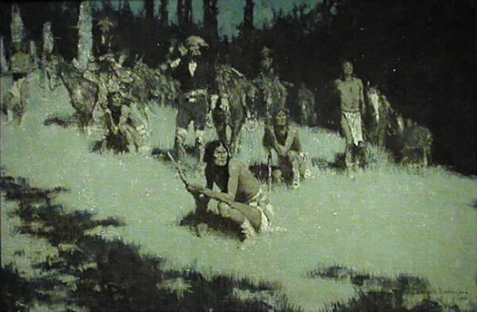 Gallery Had The First Show Ever Frederic Remington Paintings