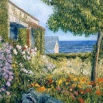 Gallo Seaside Garden Painting George Paintings