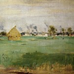 Gennevilliers Berthe Morisot Oil Painting Reproduction