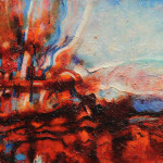 Geoff Oke Abstract Landscape Painting New Contemporary Art