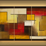 Geometrical Abstract Art Who Figures Modern Painting